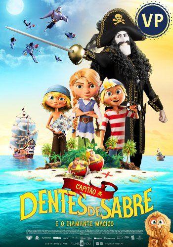 Capitão Dentes de Sabre e o Diamante Mágico (Versão Portuguesa)
