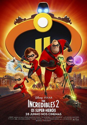 THE INCREDIBLES 2: OS SUPER-HERÓIS VP